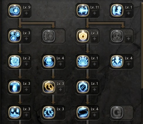 NEW force user skill tree & lv45 jobs - Dragon Nest Source